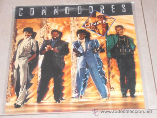 COMMODORES - UNITED - LP (Música - Discos - LP Vinilo - Funk, Soul y Black Music)