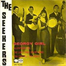 Discos de vinilo: EP THE SEEKERS : GEORGY GIRL . Lote 37356080