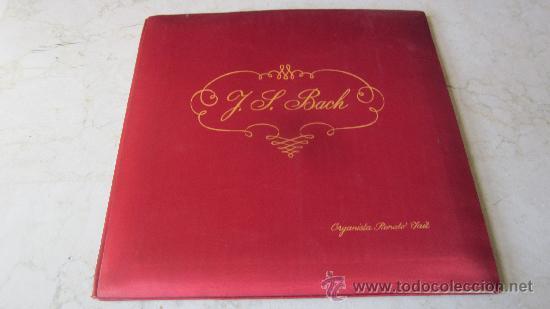 RENATO FAIT - J.S. BACH - NUOVA ACCADEMIA DISCO (Música - Discos - LP Vinilo - Clásica, Ópera, Zarzuela y Marchas)
