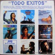 Discos de vinilo: TODO EXITOS - LP . Lote 37361851