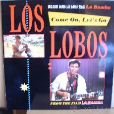 Discos de vinilo: LOS LOBOS --- COME ON,LET´S GO - LA BAMBA. Lote 37366735