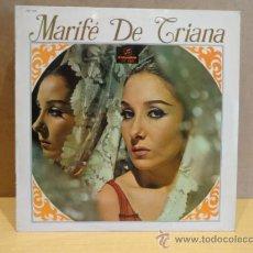 Discos de vinilo: MARIFÉ DE TRIANA. ROMANCE DE LA REINA MERCEDES.LP COLUMBIA 1967. BUENA CALIDAD. ***/***. Lote 37367677