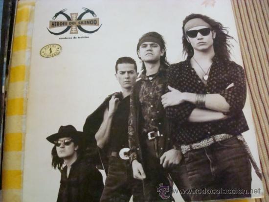 HEROES DEL SILENCIO- SENDEROS DE TRAICION - LP CARA B MAL (Música - Discos - LP Vinilo - Pop - Rock - Extranjero de los 70)
