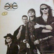 Discos de vinilo: HEROES DEL SILENCIO- SENDEROS DE TRAICION - LP CARA B MAL. Lote 37729541