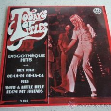 Discos de vinilo: 'DISCOTHÉQUE HITS' ( HEY JUDE - OB-LA-DI OB-LA-DA - FIRE - WITH A LITTLE HELP FROM MY FRIENDS ) EP. Lote 37369017