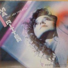 Discos de vinilo: MA RITTER - YOU ARE THE ONE A MENOS CUARTO - 2001. Lote 37388063