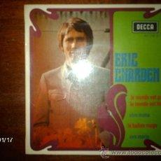 Discos de vinilo: ERIC CHARDEN - LE MONDE EST GRIS, LE MONDE EST BLEU + 3. Lote 37381715
