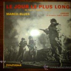 Discos de vinilo: JAMES AWARD - LE JOUR PLUS LONG + MARCH-BLUES . Lote 37381835