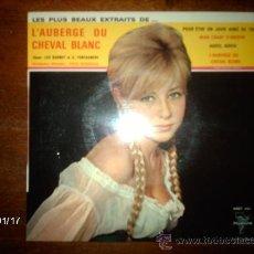 Discos de vinilo: LUC BARNEY - GUY FONTAGNERE / L´ALBERGE DU CHEVAL BLANC / ADIEU, ADIEU + 3. Lote 37381905