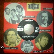 Discos de vinilo: BOB CALFATI ET SON ORCHESTRE - QUAND ON SERA MARIE + TOBIA . Lote 37381938