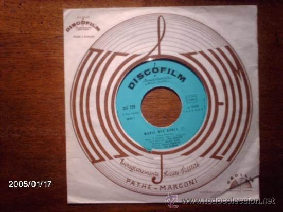 PAUL CHARIER - MARIE DES AYRES + BOURREE MONTFERRANDAISE (Música - Discos - Singles Vinilo - Orquestas)