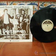 Discos de vinilo: LP DE BEETHOVEN. Lote 37383980