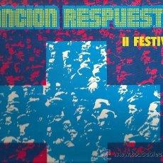 Disques de vinyle: LP CANCION RESPUESTA - II FESTIVAL ( ORGANIZADO POR EL SECRETARIADO MARISTA, EDICION PAX ) . Lote 48469327