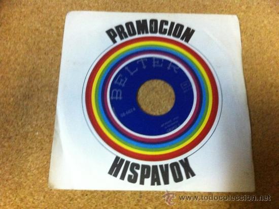 PROMOCION HISPAVOX -- GRUPO 6 (Música - Discos - Singles Vinilo - Grupos Españoles de los 70 y 80)