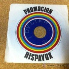 Discos de vinilo: PROMOCION HISPAVOX -- GRUPO 6. Lote 37385298