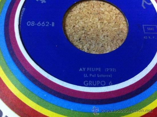 Discos de vinilo: PROMOCION HISPAVOX -- GRUPO 6 - Foto 2 - 37385298
