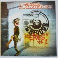 Discos de vinilo: ACCION SANCHEZ - CREADOR SERIES VOL.1 - 2 LP (EL DIABLO 2004 ESPAÑA). Lote 37385799