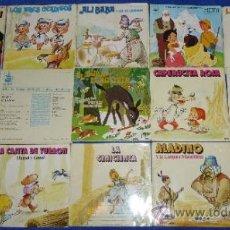 Discos de vinilo: LOTE DE CUENTO DISCOS. Lote 37388158