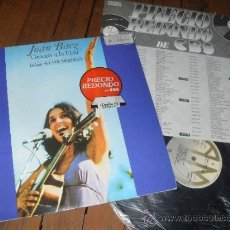 Discos de vinilo: JOAN BAEZ LP GRACIAS A LA VIDA MADE IN SPAIN 1977. Lote 37411124