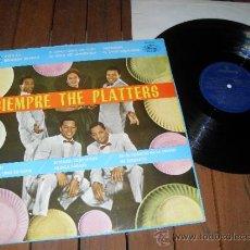 Discos de vinilo: THE PLATTERS LP DISCO VINILO SIEMPRE THE PLATTERS MADE IN SPAIN 1981 MONO MCL125 264. Lote 37411552