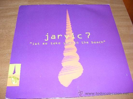 1 DISCO VINILO - 33 RPM - EP - JARVIC 7 ( LET ME TAKE YOU TO THE BEACH ) (Música - Discos de Vinilo - EPs - Disco y Dance)