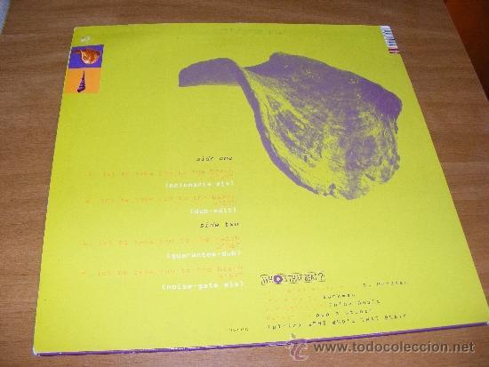 Discos de vinilo: PARTE TRASERA CON LAS CANCIONES - Foto 2 - 37400671