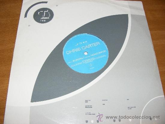 1 DISCO VINILO - 33 RPM - EP - AÑO 2002 - CHRIS CARTER ( EUROPA - NONCOMPOS ) (Música - Discos de Vinilo - EPs - Disco y Dance)