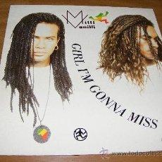 Discos de vinilo: 1 DISCO VINILO - 33 RPM - EP - AÑO 1989 - MILLI VANILLI ( GIRL I'M GONNA MISS YOU ). Lote 37403851