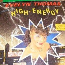 Discos de vinilo: 1 DISCO VINILO - 33 RPM - EP - AÑO 1984 - EVELYN THOMAS ( HIGH ENERGY ). Lote 37404318