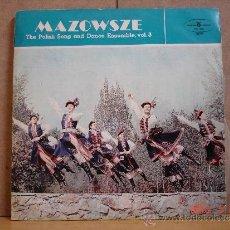 Discos de vinilo: MAZOWSZE - THE POLISH SONG AND DANCE ENSEMBLE VOL. 1, 2, 3, 4 Y 5 - POLSKIE NAGRANIA MUZA - 5XLP. Lote 37407886