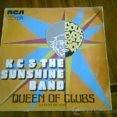 Discos de vinilo: K.C.& THE SUNSHINE BAND.QUEEN OF CLUBS.1974.RCA-VICTOR.. Lote 37408350
