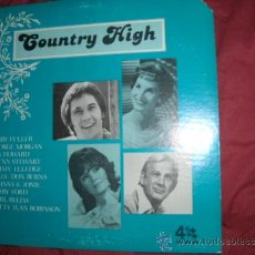 Discos de vinilo: COUNTRY HIGHT LP 1977 USA STAR RECORDS VARIOS ARTISTAS VER FOTO ADICIONAL. Lote 37412351