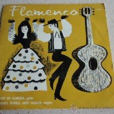 Discos de vinilo: PEPE DE ALMERIA & ENSEMBLE (JOTA ARAGONESA - BERDIA DE CADIZ - BOULERIA FLAMENCA - PASODOBLE FLAMENC. Lote 37413677