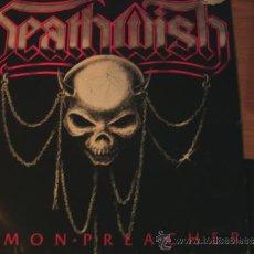 Discos de vinilo: DEATHWISH -DEMON PREACHER-LP. Lote 37417180