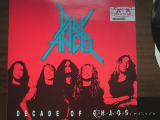 Discos de vinilo: DARK ANGEL-DECADE OF CHAOS-LP - Foto 1 - 37418389
