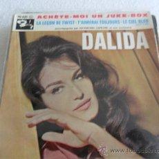 Discos de vinilo: DALIDA - ACHETE-MOI UN JUKE-BOX + 3 EP MADE IN FRANCE. Lote 37424206
