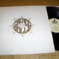 Discos de vinilo: SACRED DOLLS LP 1989 URANTIA RECORDS HARD ROCK AOR ESPAÑOL RARA FOLDER CARPETA PROMO!!. Lote 37424327