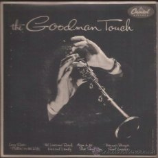 Discos de vinilo: EP-BENNY GOODMAN TOUCH-CAPITOL 441-SWEDEN-TRI CENTER-DOBLE-SWING JAZZ. Lote 37424700