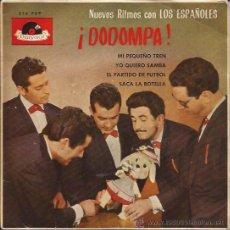 Discos de vinilo: EP-LOS ESPAÑOLES-DODOMPA-POLYDOR 214-1963. Lote 37424836