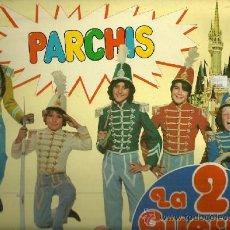 Discos de vinilo: PARCHIS LP SELLO HISPAVOX EDITADO EN ESPAÑA AÑO 1981 DEL FILM LA 2ª GUERRA DE LOS NIÑOS. Lote 37426001