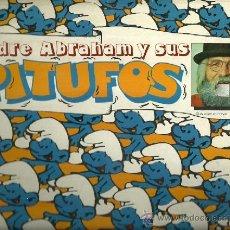 Discos de vinilo: EL PADRE ABRAHAM Y SUS PITUFOS LP SELLO CARNABY EDITADO EN ESPAÑA AÑO 1979. Lote 37426077