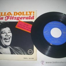 Discos de vinilo: ELLA FITZGERALD HELLO DOLLY + 3 (1964 EMI ESPAÑA) FRANK DE VOL ORQUESTA. Lote 37483583