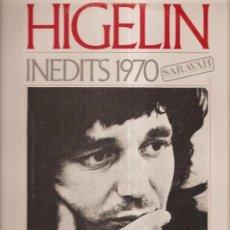 Discos de vinilo: HIGELIN 1970. Lote 37437456