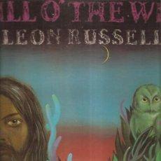 Discos de vinilo: LEON RUSSELL THE WISP. Lote 37437861