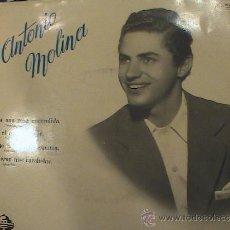 Discos de vinilo: ANTONIO MOLINA. Lote 37437889