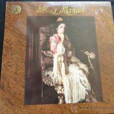 Discos de vinilo: LOLE Y MANUEL LP CASTA. Lote 37439379