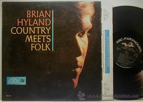BRIAN HYLAND / COUNTRY MEETS FOLK 1964 !! PSYCH FOLK, ORIG. EDIT. USA !! TODO EXC !!!! (Música - Discos - LP Vinilo - Pop - Rock Extranjero de los 50 y 60)