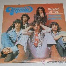 Discos de vinilo: TEQUILA - NECESITO UN TRAGO / BUSCANDO PROBLEMAS NUEVO!!!. Lote 37455447