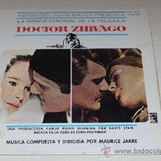 Discos de vinilo: DOCTOR ZHIVAGO - SOUNDTRACK - MAURICE JARRE. Lote 37466627