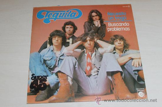 Discos de vinilo: TEQUILA - NECESITO UN TRAGO / BUSCANDO PROBLEMAS NUEVO!!! - Foto 2 - 37455447